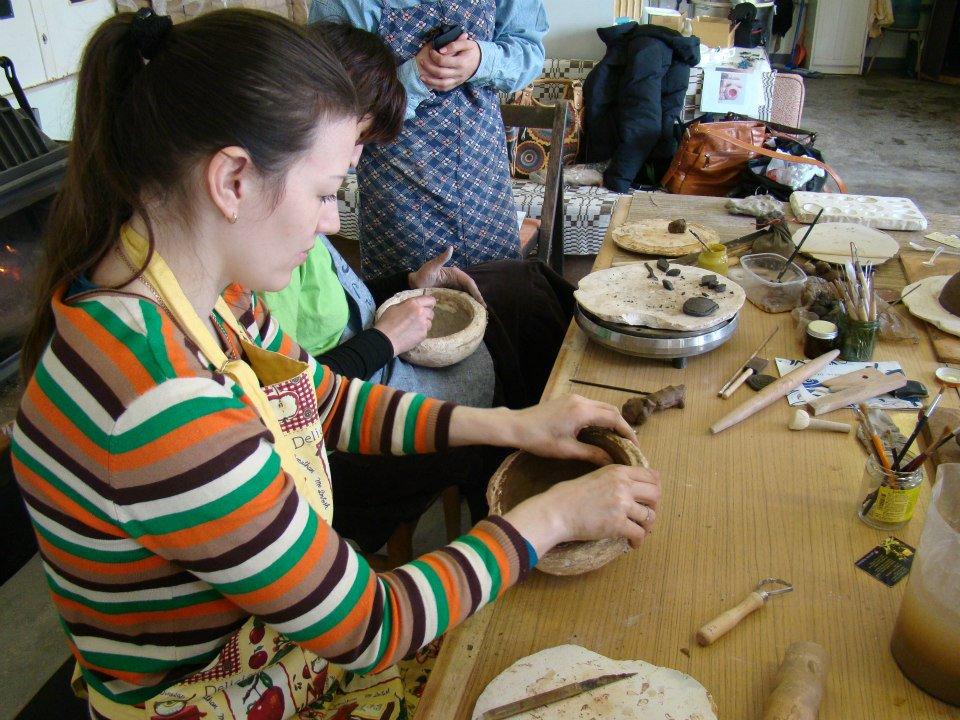 keramikos pamokos murdeko studijoje