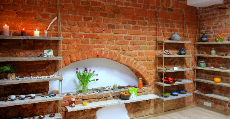 Nauja keramikos dirbtuvių vieta
