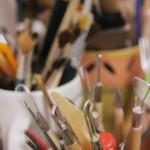 Keramikos pamokų įrankiai
