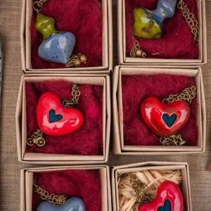 Keraminiai pomanderiai Širdutės