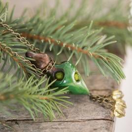 Žalias keraminis pomanderis