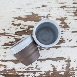 Keraminiai kavos puodeliai