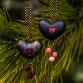 Širdies formos pomanderis