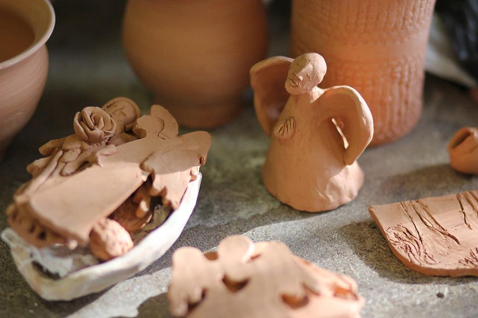 Murdeko keramikos pamokos - Kalėdinė tematika