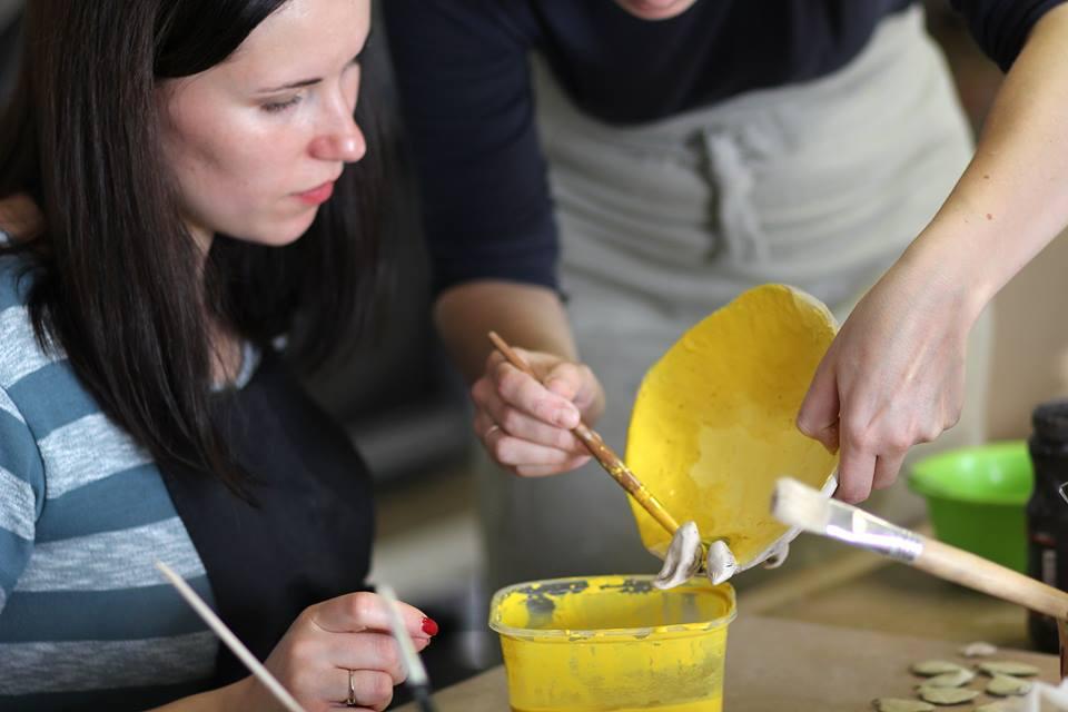 Keramikos pamokos suaugusiems Kaune