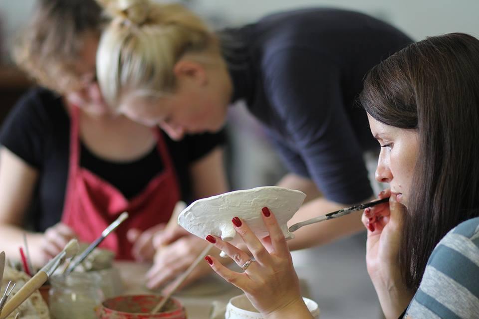 Murdeko keramikos pamokos su patyrusia mokytoja